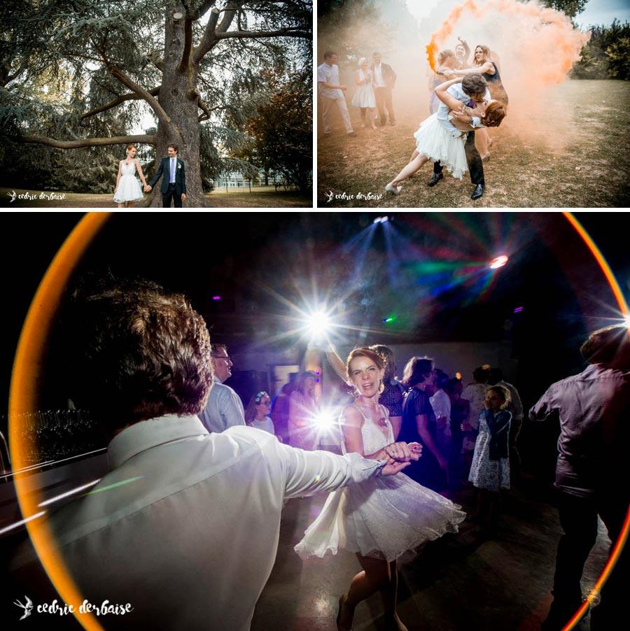 mariage et dance floor
