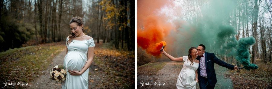 Mariage et Maternité - photographe mariage et famille