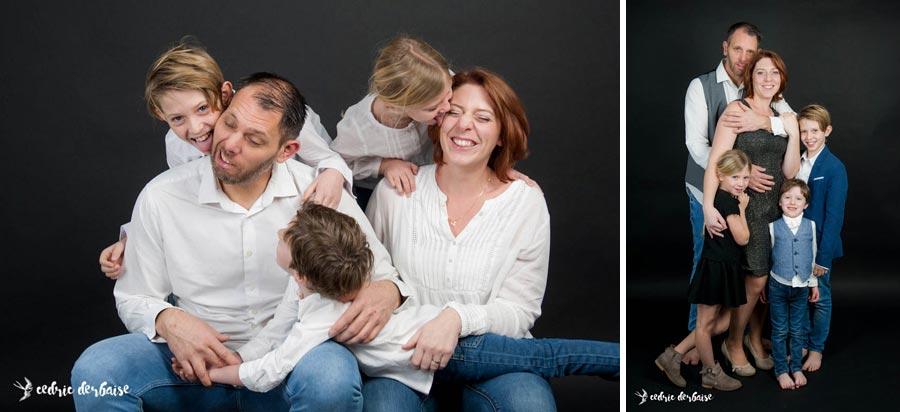 Mini séance de noël en famille