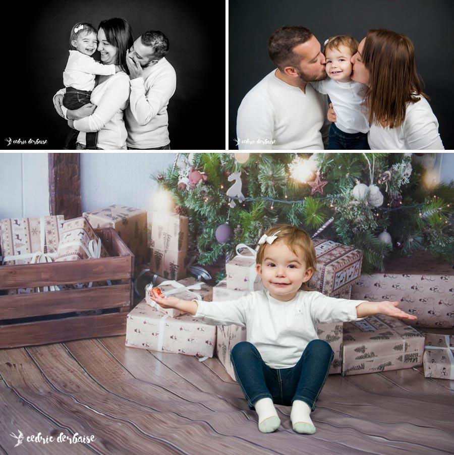Mini séance de noël en famille - photographe mariage et famille