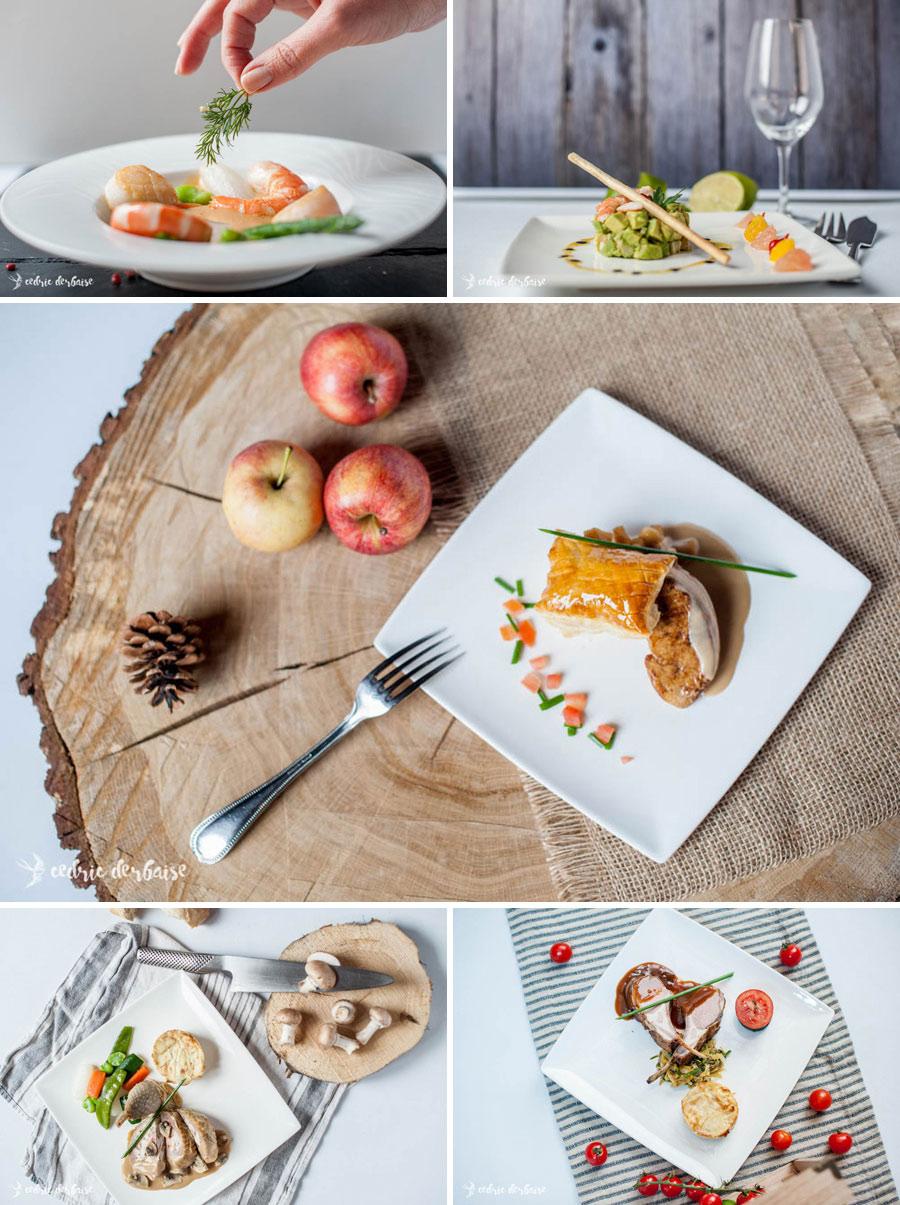 Photographe hauts de france culinaire entreprise corporate