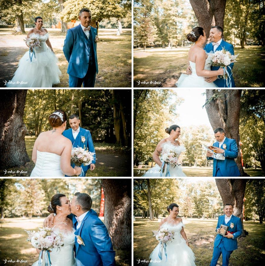 Découvertes des mariés en tenue - Domaine du Chesney