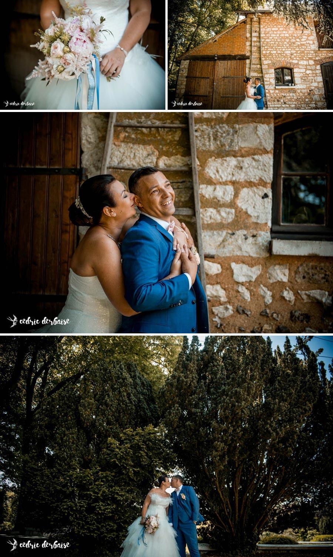 Découvertes des mariés en tenue