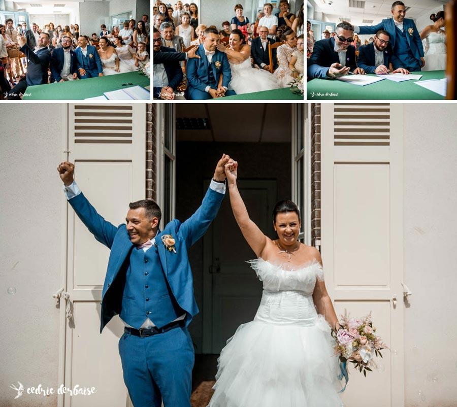 Mariage en Mairie - Photographe mariage oise