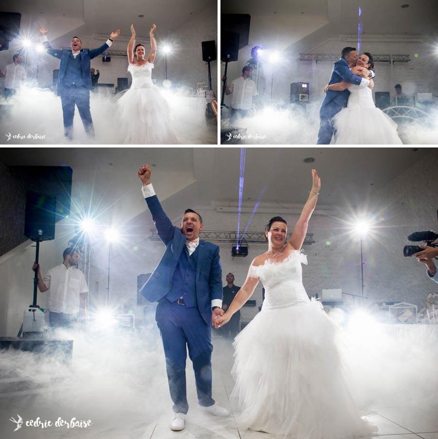 Photographe mariage oise - Entrée en salle