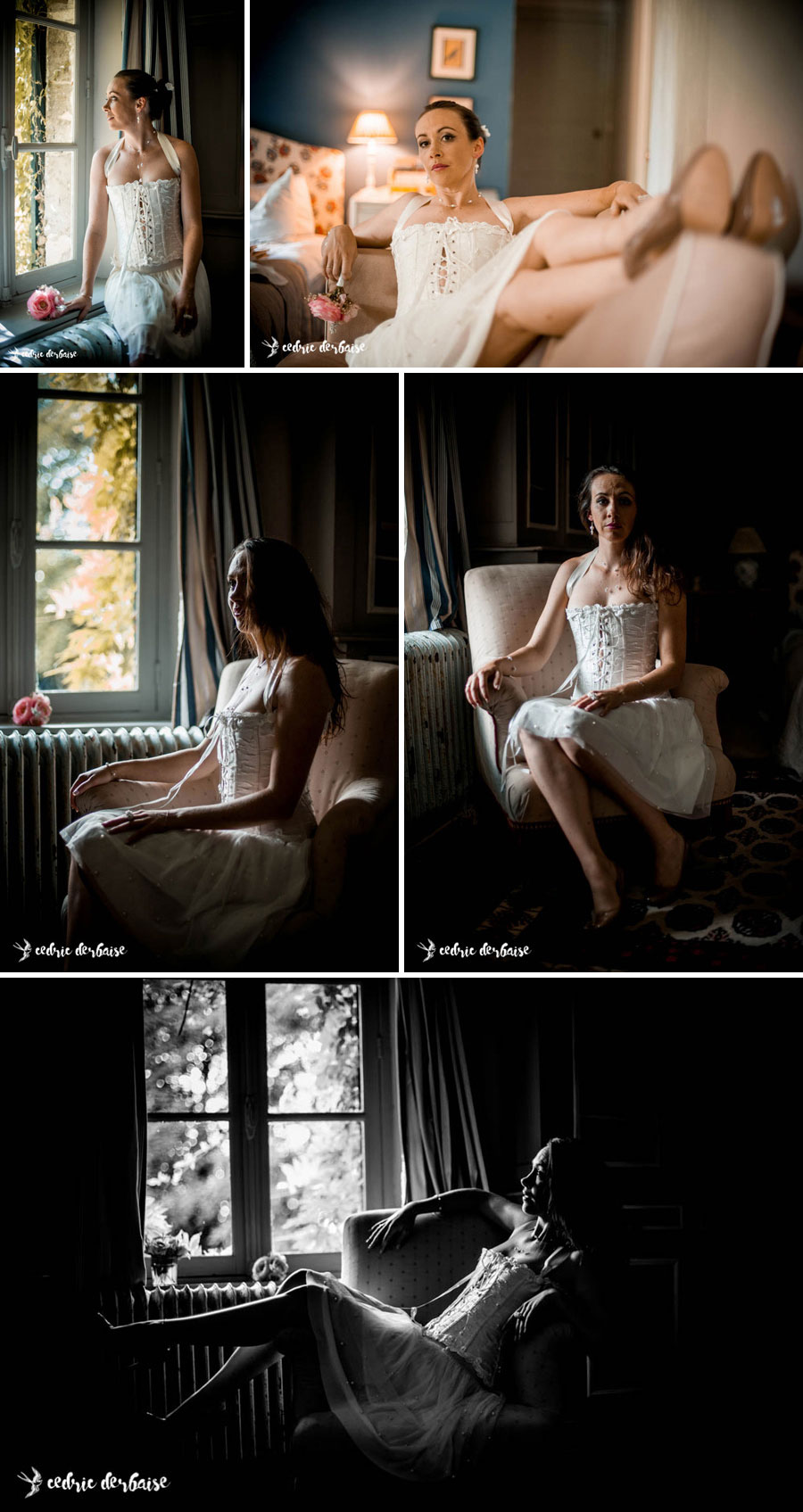 Cédric Derbaise - séance boudoir intimiste