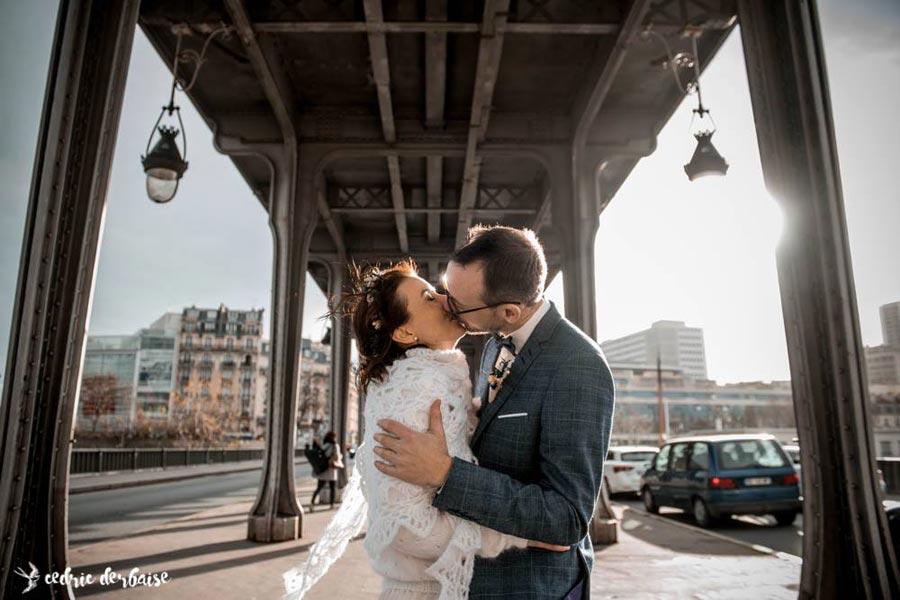 mariage d'hiver photographe
