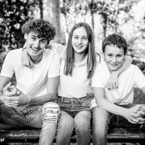 Photographe famille oise séance extérieur