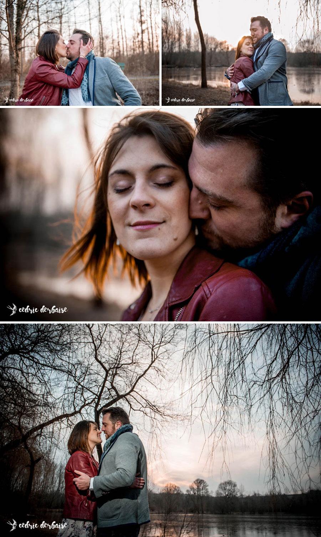 Photographe hauts de france couple engagement