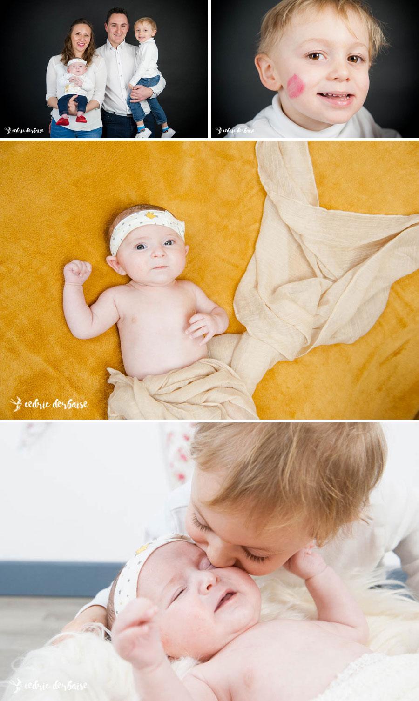 Photographe hauts de france naissance studio